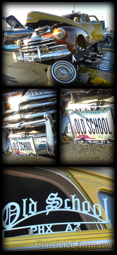 Lowrider show and live concert at Fort McDowell