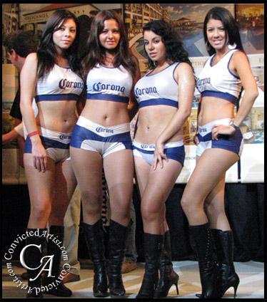 Cancuns Beautiful Ring Girls Promoter Don King Bull Ring Oleg Maskaev Vs Samuel Peter Boxing