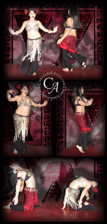 Snake Charmer and the Belly Dancer
