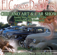 El Paso Super Car Show of the year Quality Cars, Art Expo, and Music!