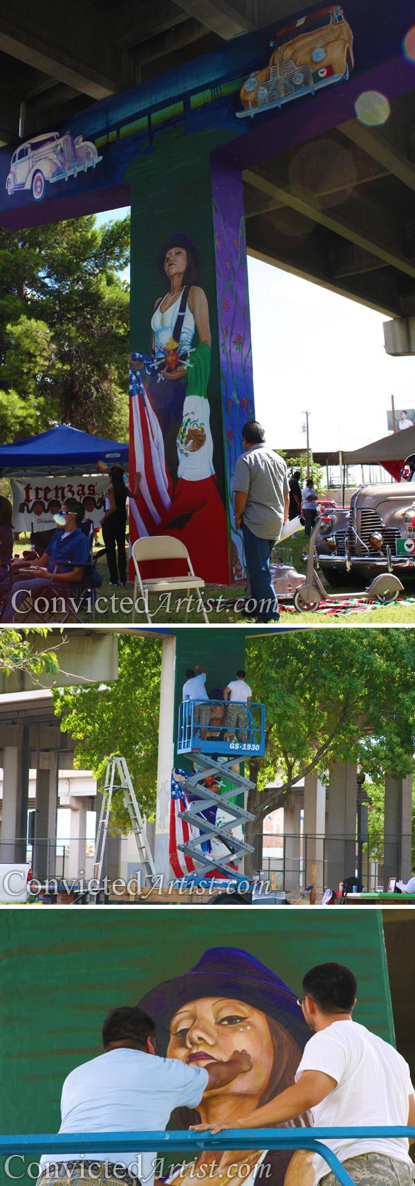 Jesus Quot Cimi Quot Alvarado Muralist El Paso